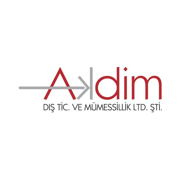 Akdim logo con